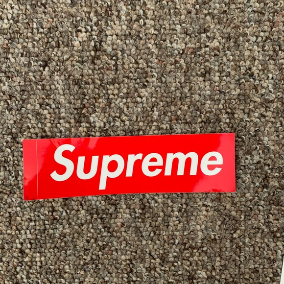 Large Supreme Bumper Sticker